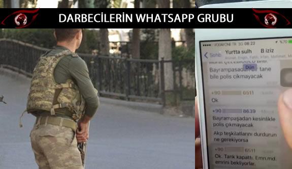Darbecilerin Whatsapp grubu ele geçirildi