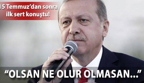 Erdoğan'dan Kılıçaroğlu'na Yenikapı tepkisi