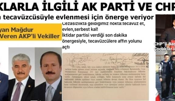 """TÜRKİYE""""DE ÇOCUKLARA VERİLEN DEĞER , AKP VE CHP İKİ FARKLI BAKIŞ AÇISI"""