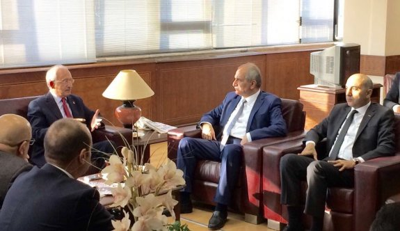 CHP Genel Başkanı Kılıçdaroğlu, Yeniçağ gazetesini ziyaret etti