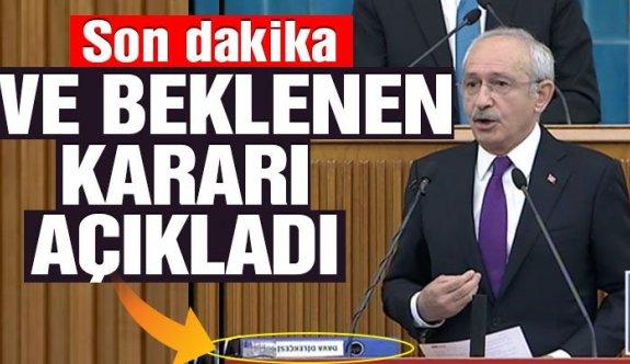 CHP,Kılıçdaroğlu: AYM'ye gitmeyeceğiz