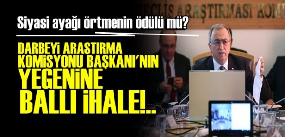 AKP'li vekilin yeğeni, İstanbul Büyükşehir'in özel güvenlik ihalesini kazandı!