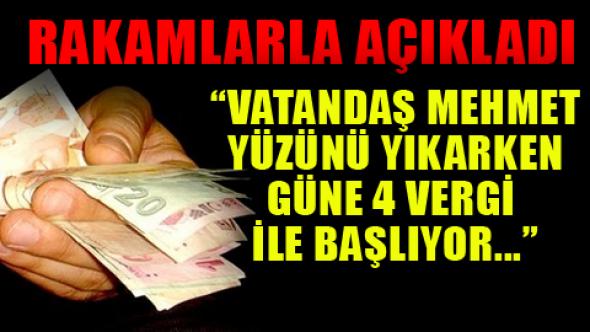 """Chp """"li Umut Oran ,AKP Hükümeti vatandaşı böyle soyuyor!"""