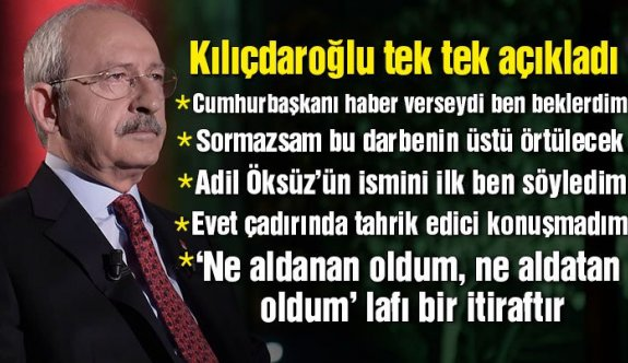 Kemal Kılıçdaroğlu'ndan önemli açıklamalar