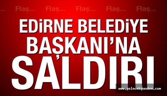 CHP'Lİ BAŞKAN'A KALLEŞ  SALDIRI