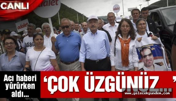 """""""ADALET YÜRÜYÜŞÜ ŞEHİDİ"""""""