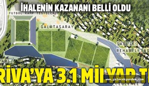 Galatasaray'a 3.1 milyar liralık gelir