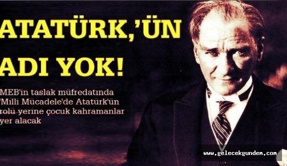 MEB'in yönetmeliğinde skandal: Atatürk'e yer yok