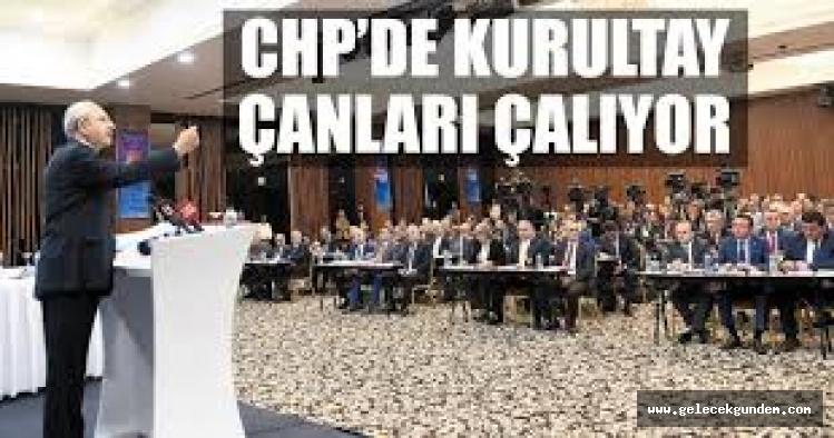 CHP'de olağanüstü kurultay sesleri