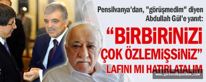 Fethullah Gülen'in sağ kolundan Abdullah Gül'e yanıt