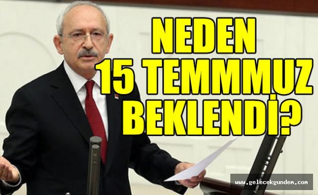 Kılıçdaroğlu hem Akar'a hem de Erdoğan'a bakarak sordu