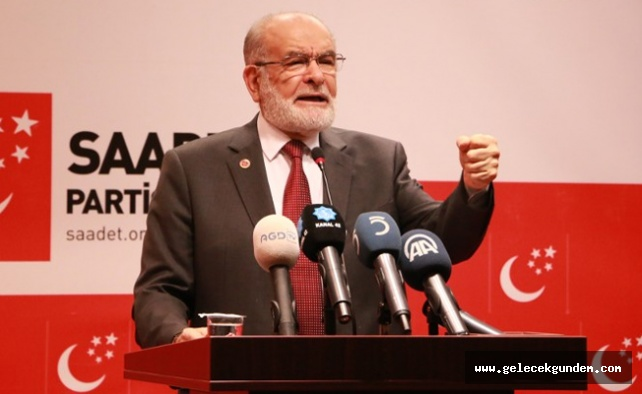 Saadet Partisi'nden AKP'ye: Adaleti katlettiniz