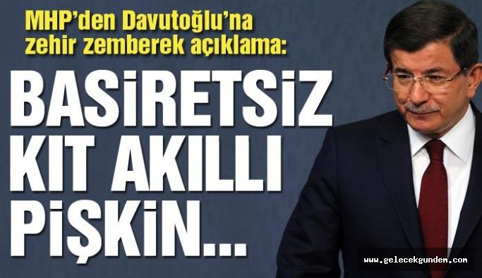 Son dakika haberi: MHP'den Ahmet Davutoğlu'na aynı sertlikte cevap