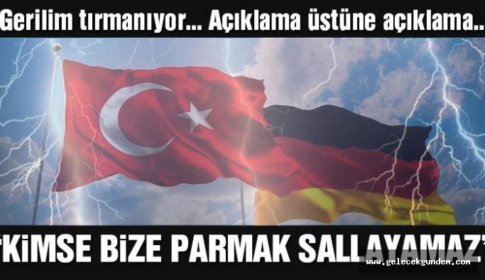 Son dakika… Türkiye'den Almanya'ya ilk tepki geldi: Kimse bize parmak sallayamaz
