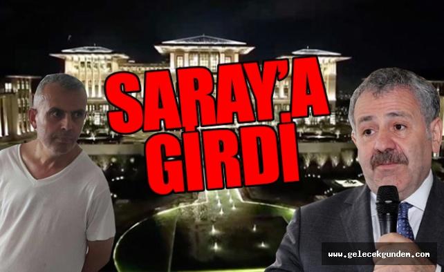 AK Partide bu nasıl iş?Kardeşi darbeden tutuklu Şaban Dişli Saray'a başdanışman oldu