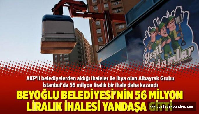 AK Parti'li Beyoğlu Belediyesi'nde,56 milyon liralık ihale yandaşa gitti