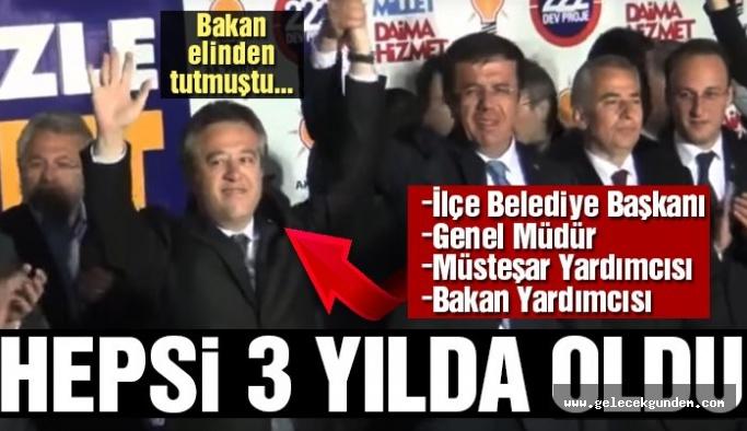 Bir AKP Klasiği,Bakan hemşehrisinin hızlı yükselişi…