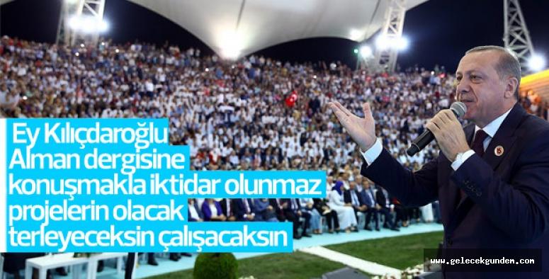 Cumhurbaşkanı Erdoğan: Üye sayısını 2 ile çarpınca Mart 2019'da farklı gelişecektir