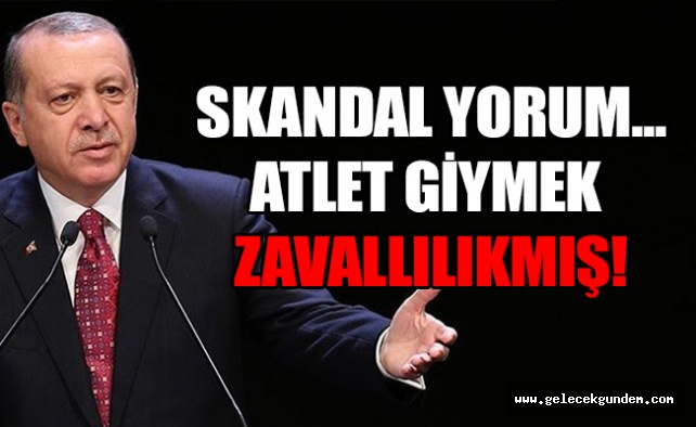 Erdoğan Muhtarlar Toplantısı'nda Kılıçdaroğlu'nun atletli halini eleştirdi