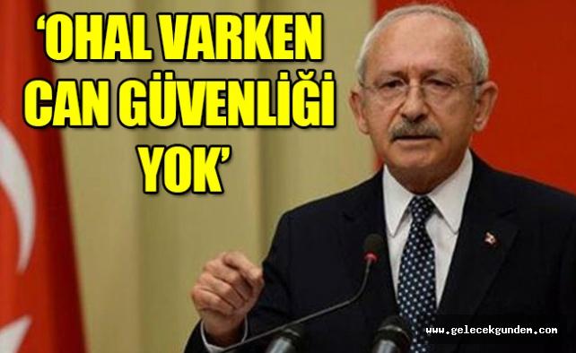 Kılıçdaroğlu: Bana karşı bel altı operasyon var!