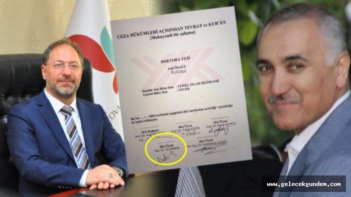 Adil Öksüz'ün doktora tezinde yeni Diyanet İşleri Başkanı Ali Erbaş'ın imzasının olduğu ortaya çıktı