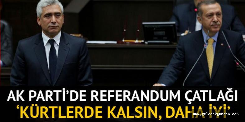 Ensarioğlu'ndan 'Irak referandumu' açıklaması: Kerkük'ün Kürtlerde kalması daha iyi