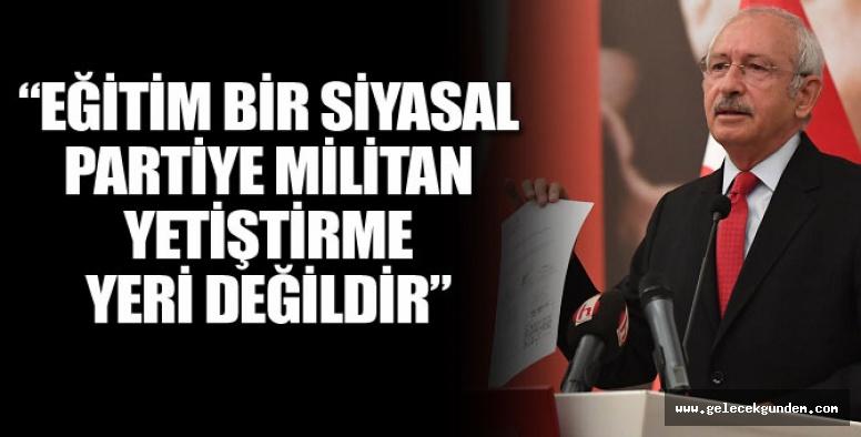 Kılıçdaroğlu'ndan AKP'ye FETÖ salvosu