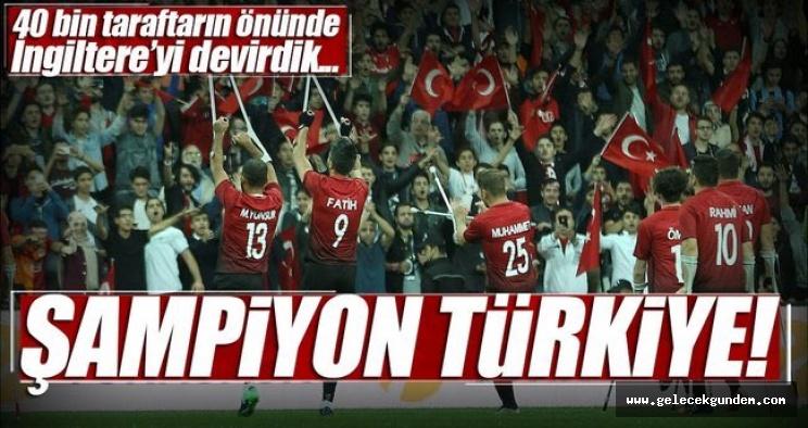 Türkiye sizinle gurur duyuyor,Türkiye Ampute Milli Takımı, Avrupa Şampiyonu oldu