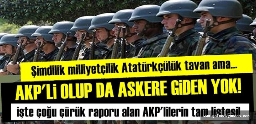 AKP'LİLER BEDELLİ VE ÇÜRÜĞÜ ÇOK SEVMİŞ!