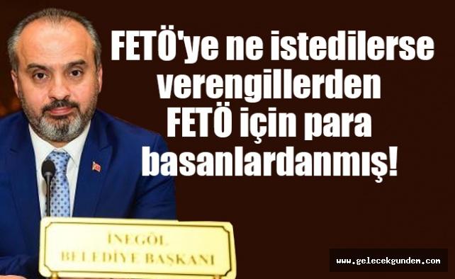 Bursa'nın AKP'li yeni belediye başkanı da FETÖ'ye övgüler dizmiş