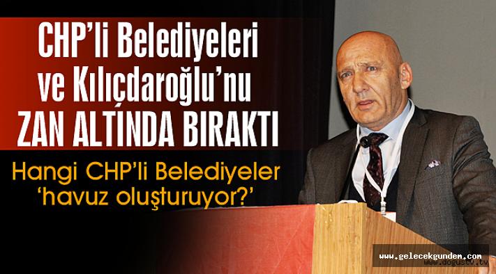 Kartal Belediye Başkanı Altınok Öz'den skandal konuşma! Kılıçdaroğlu ve CHP'li belediyeleri zan altında bıraktı