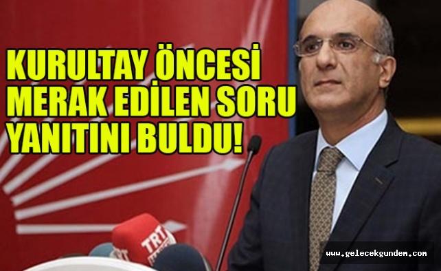 Son dakika: CHP'nin Divan Başkanlığı için önereceği isim belli oldu