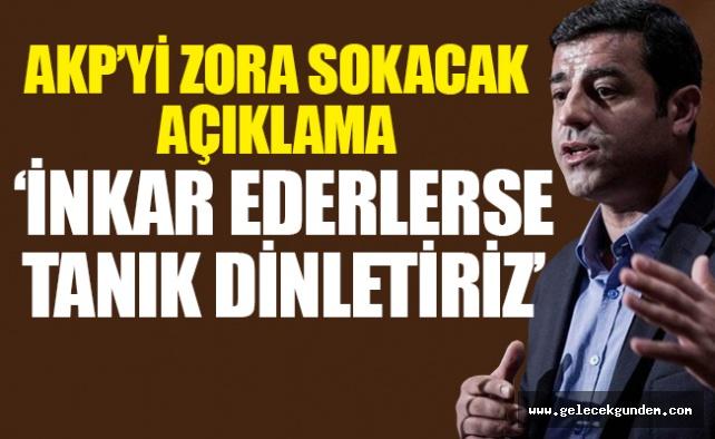'Bakan eliyle Öcalan'dan Selahattin Demirtaş'a talimat'