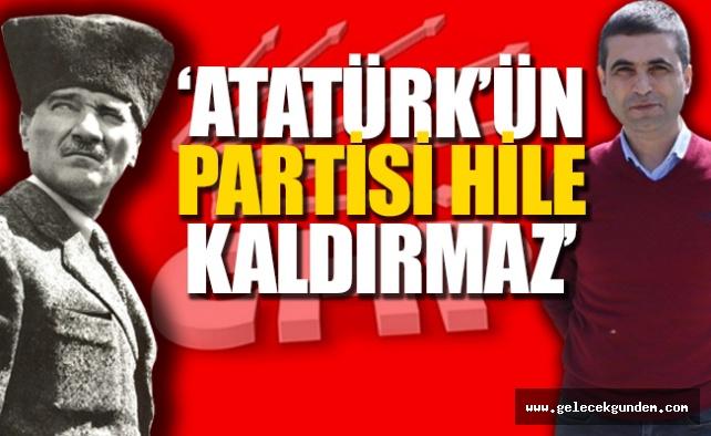 CHP'li Ulaş Gürbüz  Muharrem İnce'ye 'Sahte imzalarla CHP'ye başkan değil üye bile olamazsın'dedi.