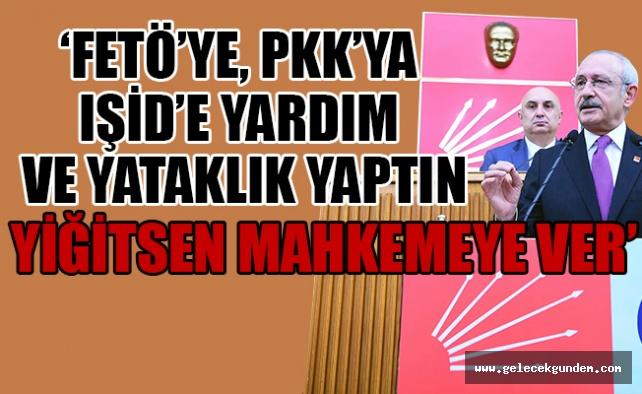 CHP lideri, Erdoğan'a meydan okudu