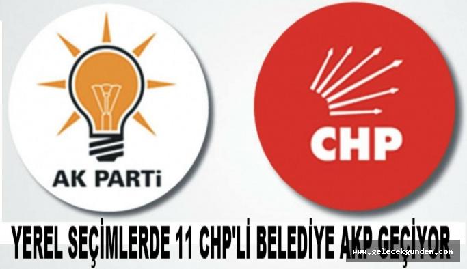 CHP İSTANBULDA YEREL SEÇİMLERDE 11  BELEDİYE 'SİNİ KAYBEDİYOR