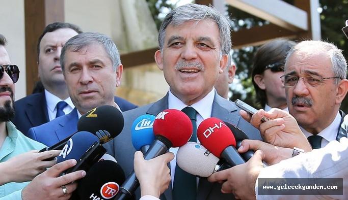 11. Cumhurbaşkanı Abdullah Gül: Ne düşündüğümü, ne yapacağımı yarın anlatacağım