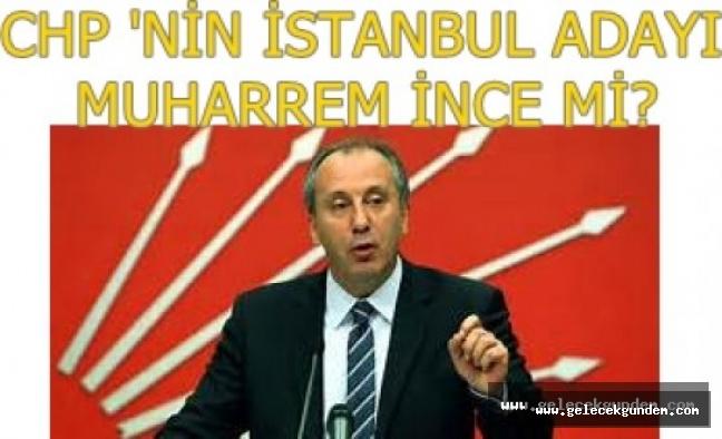 CHP TABANI  ,İSTANBUL İÇİN MUHARREM İNCE DİYOR