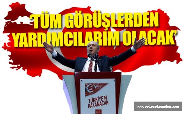 Muharrem İnce: Kürt kardeşimi Başkan yardımcısı ilan edeceğim