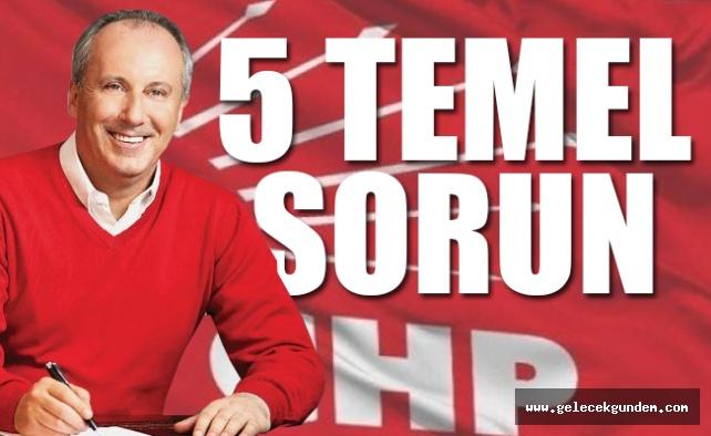 Ve CHP seçim bildirgesini açıklıyor...
