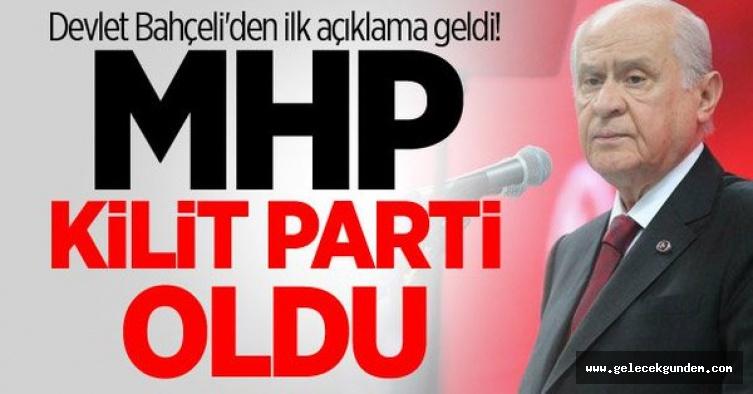 Devlet Bahçeli: MHP tarihi bir başarıya imza atmıştır