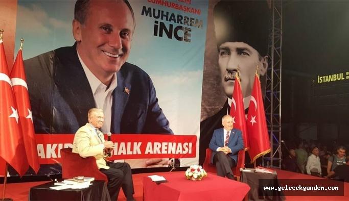 """İnce: """"Cumhuriyet tarihinin en büyük mitingini bekliyorum."""""""