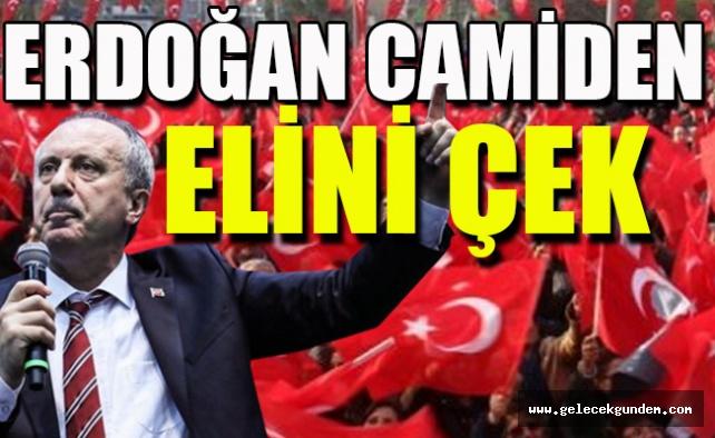 Maraş'ta İnce'den Erdoğan'a cami yanıtı! Ayetli uyarı...