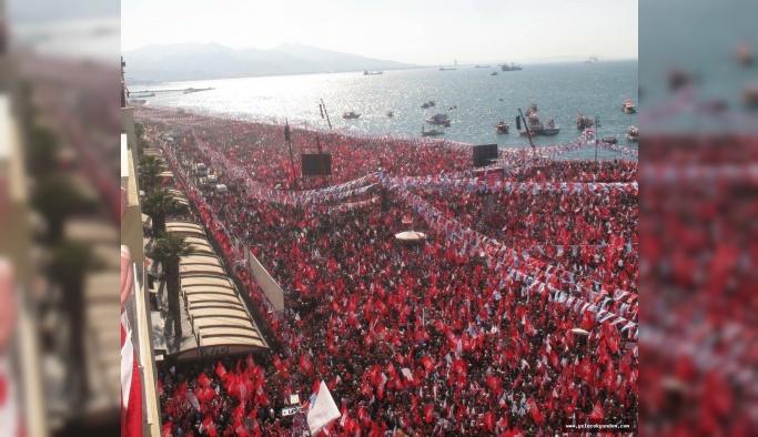 Muharrem İnce İzmir'de milyonlara seslendi, Bir Millet uyanıyor