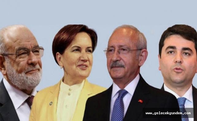 Seçime 3 gün kala 'Millet İttifakı Tutum Belgesi' açıklandı