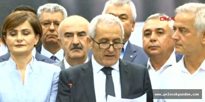 CHP'li 59 il başkanından ortak 'olağanüstü kurultay' açıklaması