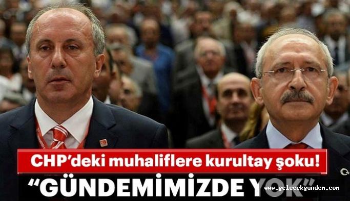 """PM Üyesi Gökhan Zeybek """"CHP'nin gündeminde olağanüstü kurultay yoktur"""""""