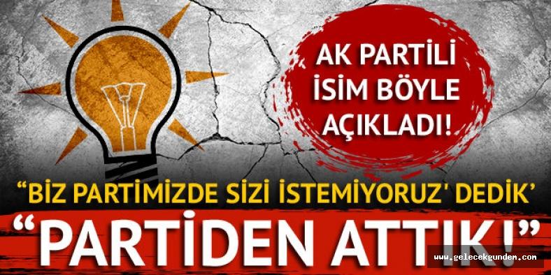 AK Partili Mehmet Özhaseki: Bazılarını partiden attık!