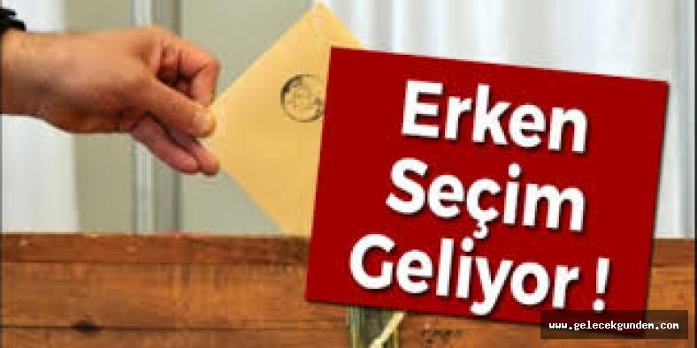 AKP'den CHP'ye erken seçim teklifi