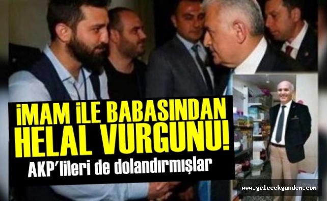 AKP'Lİ YÖNETİCİDEN MİLYONLUK VURGUN